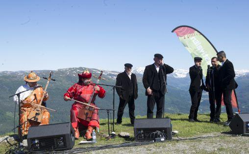 Nomadic Voices på Hafstadfjellet -Foto: Geir Birkeland