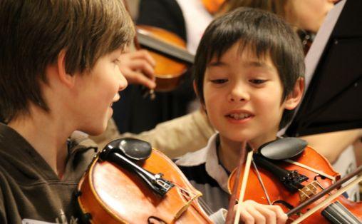 Fra sommermusikkskolene Foto: Sindre Lyslo