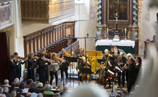 Barokkanerne med Alfredo Bernardini under Tage Alter Musik i Regensburg tidligere i år. Foto: Hanno Meier