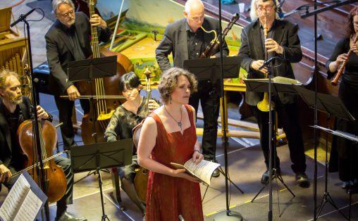 Barokkanerne, Med Marianne Beate Kielland i Regensburg 14.5.2016, Johan Nicolai Mohn til høyre i bildet. Foto: Hanno Meier