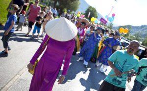 Festivalparaden 2015 Foto: Heidi Hattestein