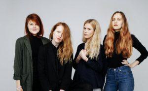 Marit Soldal (DJ Soldal), Anniken Jess Iversen (Anana), Sara Angelica Spilling (Sara Angelica), Kine Sandbæk Jensen (Pieces of Juno)  Foto: