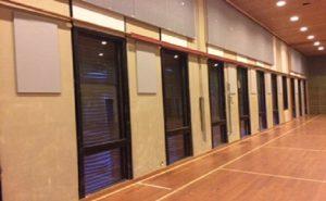 Gymsalen på Vormsund Ungdomsskole Foto: Leif Kulsrud