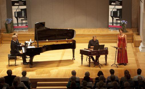 Fra åpningskonserten Foto: Kristin Bolgård / Oslo Kammermusikkfestival