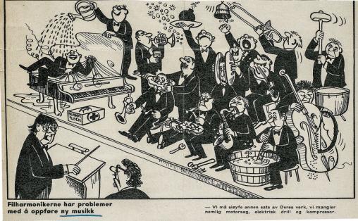 Illustrasjon hentet fra boken Lyd og ulydighet