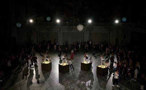 Åpningseremonien i Oslo Rådhus