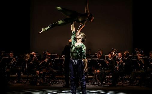 Fra forestillingen dagen før Foto: Lars Opstad / Kulturtanken
