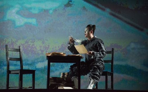 Fra Marco Polo produsert av Bergen Nasjonale Opera under Festspillene i Bergen 2013.
