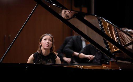 Ah Ruem Ahn fra finalen i Grieghallen. Foto: Dag Fosse/KODE