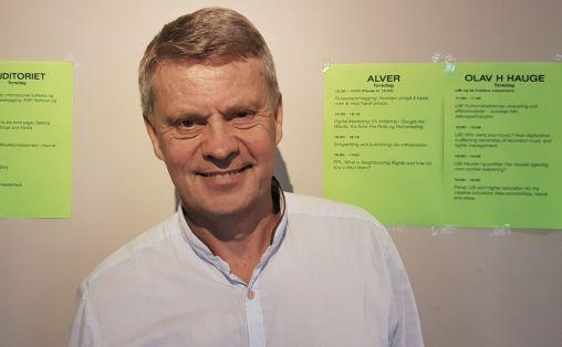 Jan M. Bjordal Foto: Aslaug Olette Klausen