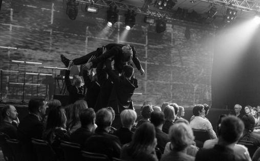 Anføttes, fra forestillingen under Festspillene i Nord-Norge. Foto: Lise Marie Mathisen / Harstad Fotoklubb