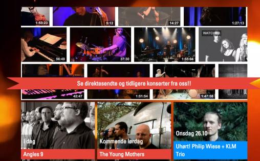 Skjermdump Nasjonale Jazzscene