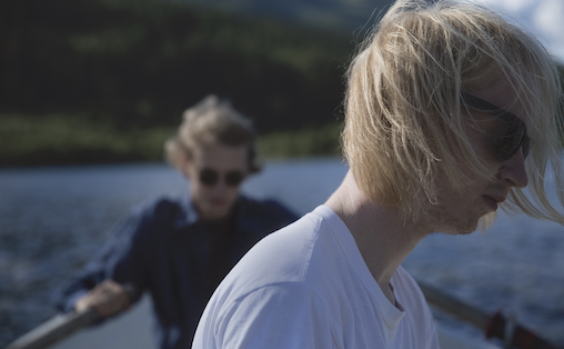 Rasmus (t.v) og Hans Kjorstad
