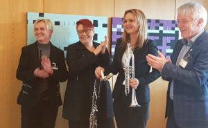 Berit Handegard, Rita Hirsum Lystad, Linda Hofstad Helleland og Karl Ove Midtbø