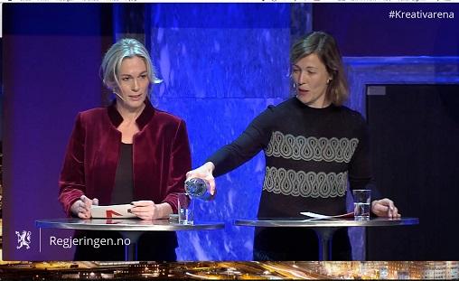 Anita Traaseth og Kristin Danielsen Foto: Strømmedump