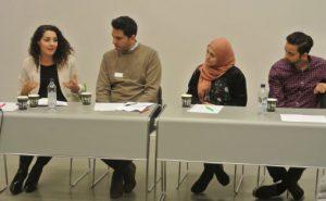 Nassima Dzair. Umar Ashraf, Amina Sahan og Ayaz Hussain Foto: TrAP