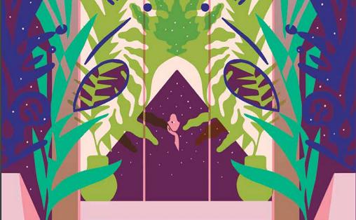 Utsnitt fra ENO-årboka 2016 Illustrasjon: Sandra Blikås