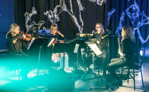 Ensemble Neon, fra neoN Notebook av Eivind Buene. Foto: Lars Opstad, Kulturtanken