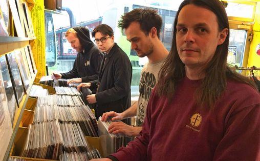 Fra venstre: Urke Wik, Eivind Imingen, Jørn Haagestad og Kristian Kallevik i Fysisk Format Foto: Tellef Øgrim