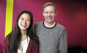 Anna Linh Nguyen Berg og Rune Rebne