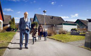 Fra filmen En mann ved navn Ove. Regi Hannes Holm.