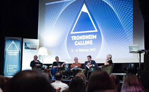 Politikerne debatterer klubbenes fremtid under Trondheim Calling Foto: Christina Undrum Andersen