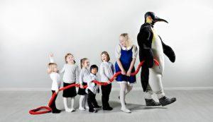 Trondheim Symfoniorkester har en pingvin som introduserer familiekonsertene. Pingvinen Bismarck, Lillesøsterkonsertene og filmkonserter for hele familien er prosjekter som stadig er i utvikling, og tilpasset barn i alle aldre.