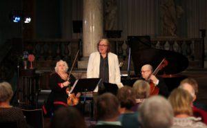 Dora Schwarzberg, Einar Steen-Nøkleber og Marthe Argerich under