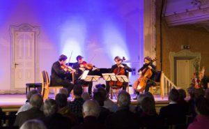 Ergo Strykekvartett fra Oslo under TICCs avslutningskonsert i 2014 Foto: