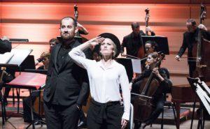Mozart: Life Love Lust under Festspillene i Bergen Foto: Thor Brødreskift