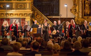 Barokkanerne med Cecilia Bernardini og Marianne Beate Kielland under årets Stockholm Early Music Festival