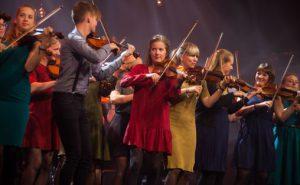 Nordic Sound Folk Orchestra Foto: Oddleiv Apneseth / Førdefestivalen