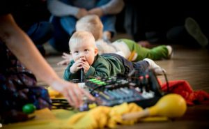 Fra Eldbjørg Raknes babykonsert under Oslo World Foto: Lars Opstad