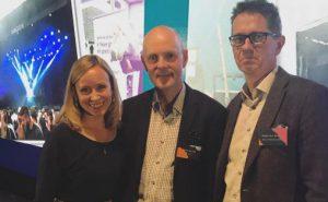 Christine Thomassen, Anders Hovind og Hans Ole Rian Foto: Linda Ringstad