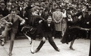 Charlston-dansekonkurranse i St. Louis, USA, 1925