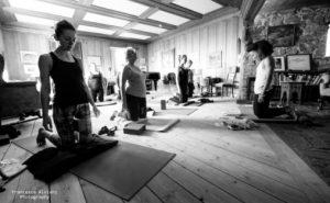 Composers Retreat på Siljustøl Foto: Francesca Alviani