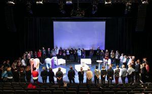Samling av alle deltagerne i workshopen dag to av FoU-konferansen.  Foto: Lars Opstad