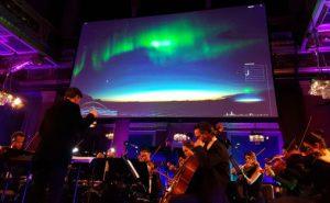 Syncron Stage Orchestra fremfører Sound of Light i  Brahms-salen i Musikverein i Wien