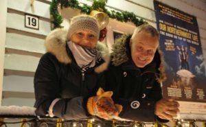 Birgit L. Johansen og Tore Fosse
