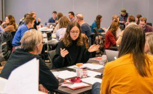 GENUS-konferansen i Kristiansand 2019. Deltakerne diskuterer