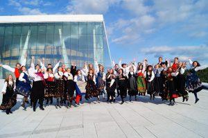 Norges ungdomskor. Bildet er tatt ved en annen anledning enn uttakelsen til verdenssamlingen for kor