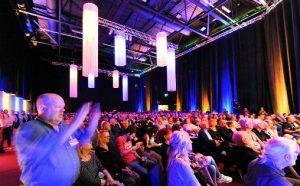 Jazzahead: Ikke et ledig sete for Gard Nilssen's Acoustic Unity i Messehall 7