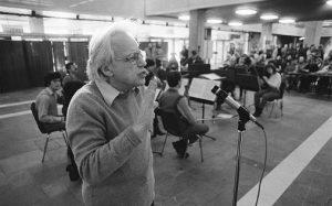 Den ungarske komponisten György Sándor Ligeti