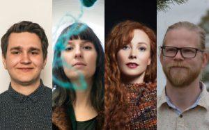 Aslak Bjørge Hermstad, Eva Pfitzenmaier, Hilde Annine Hasselberg og Steinar Yggeseth er plukket ut til Borealis Ung Komponist
