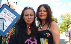 Damer i blues, Rita Engedalen og Margit Bakken