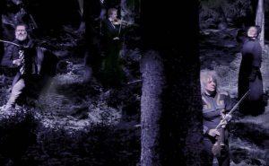"""Tigingsverket """"Haugebonden"""" med Ruth Wilhelmine Meyer, Tuva Syvertsen, Espen Leite, Per Anders Buen Garnås og ei rekkje unge talent frå Telemark"""
