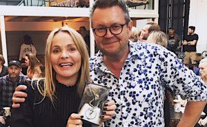 Kathrine Synnes Finnskog medFONOs Larry Bringsjord.