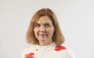Linda Dyrnes, dagleg leiar i FolkOrg