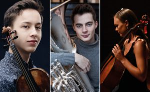 De nominerte til Equinors millionstipend: Johan Dalene, August Schieldrop og Sandra Lied Haga