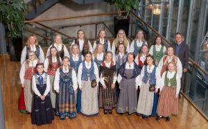 Vivace barne- og ungdomskor ble tildelt Norsk Komponistforenings hederspris under NM for kor 2019
